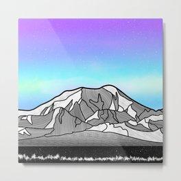Mount Foraker Mountains Metal Print