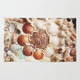 Sea Foam Sea Glass Rug