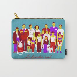 LA FAMILIA REAL Carry-All Pouch