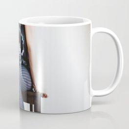 Woman In Jimi Hendrix Shirt Coffee Mug