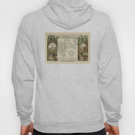 Vintage Map of Guadeloupe (1856) Hoody