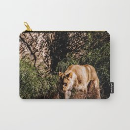 Prowling Lioness Carry-All Pouch
