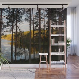Sunset in far north Wall Mural