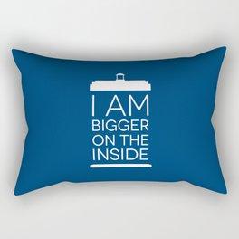 I Am Bigger On The Inside Rectangular Pillow