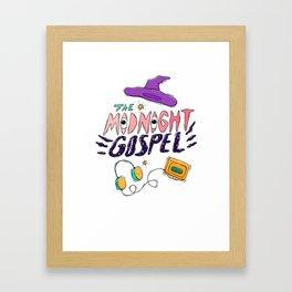 Midnigh Gospel Set Framed Art Print