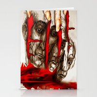 zombies Stationery Cards featuring Zombies by Rafael Salazar