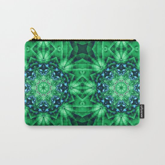 Patterns in a Kaleidoscope Carry-All Pouch