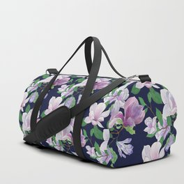 Magnolia Floral Frenzy Duffle Bag