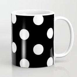 Polkadot (White & Black Pattern) Coffee Mug