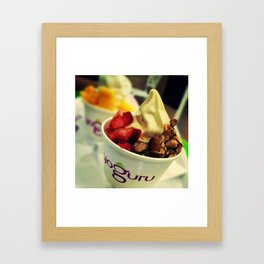 Yogurt Framed Art Print