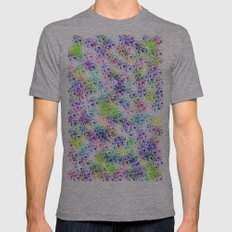 galaxy test Mens Fitted Tee Tri-Grey SMALL