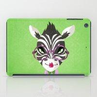 sassy iPad Cases featuring Sassy Zebra by Marcia Mailoa