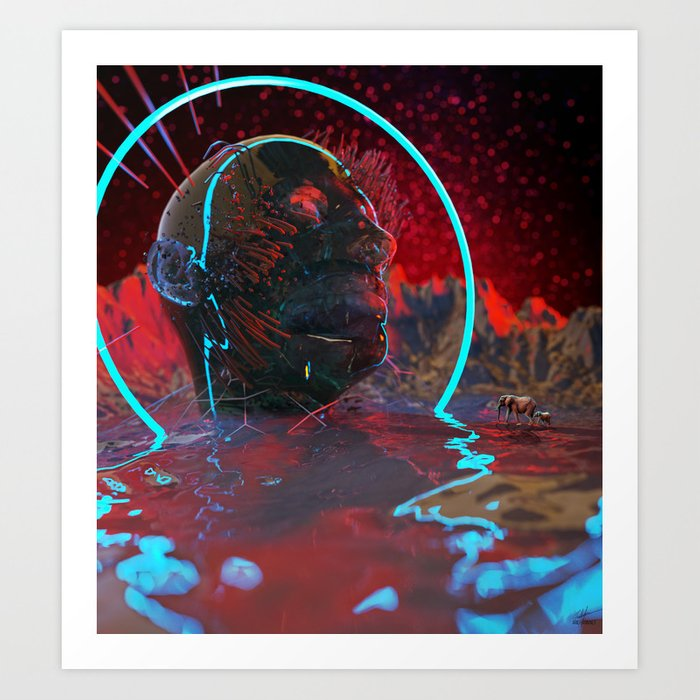 Devouring The Stars Art Print