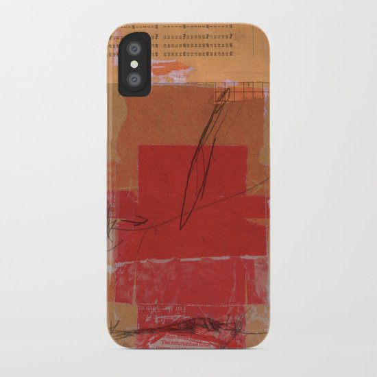 CROSS OUT #4 iPhone Case