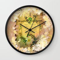 poem Wall Clocks featuring Love Poem by Lucia