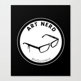 Art Nerd Glasses Canvas Print