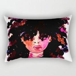 BABY HAIR AND AFROS Rectangular Pillow