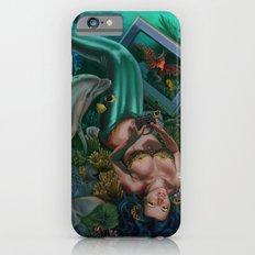 Level 12, Fathom 10: Mermaid Playing Video Games iPhone 6s Slim Case