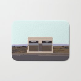 Marfa Installation: A digital illustration Bath Mat
