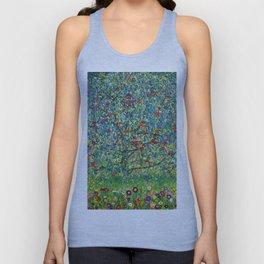 """Gustav Klimt """"Apple tree"""" Unisex Tank Top"""
