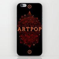 artpop iPhone & iPod Skins featuring Artpop by Mario Ezquerra