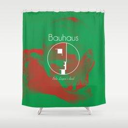 "Bauhaus ""Bela Lugosi's Dead"" Shower Curtain"