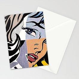 Lichtenstein's Girl Stationery Cards