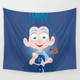 Nuly/Character & Art Toy design for fun Wall Tapestry
