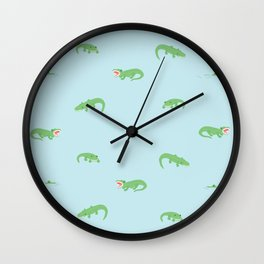 see you later, alligator. Wall Clock