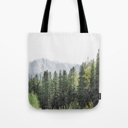 Treeline - Nature and Landscape Photography Tote Bag