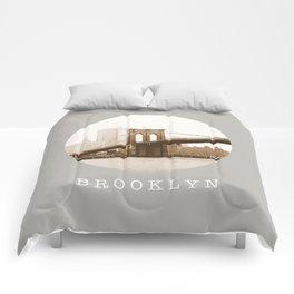 BROOKLYN / new york city / nyc Comforters