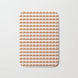 Hamburger – fast food,beef,sandwich,burger,hamburgesa Bath Mat