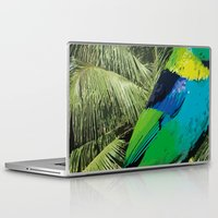 brasil Laptop & iPad Skins featuring Brasil Tropical by watermelon