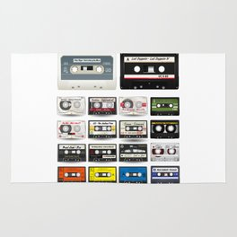Rock and Roll Tapes Rug