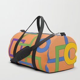 Geo-Color Design Duffle Bag