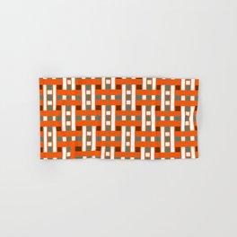 Cross Stitch Quilt Latter Design Chutes Weave Hand & Bath Towel