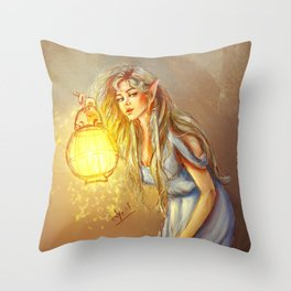 Sneak Out Throw Pillow