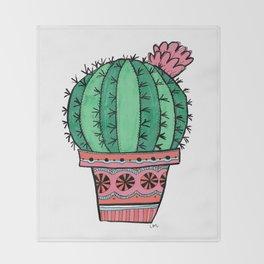 Ball Cactus Throw Blanket