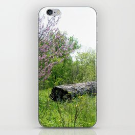 Lonely Log iPhone Skin