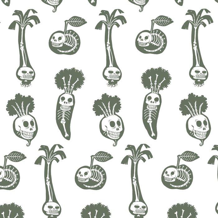 X-rays vegetables (white background) Leggings