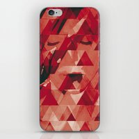 bowie iPhone & iPod Skins featuring Bowie by Aive Trujillo Photography