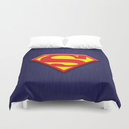 Super Hero Super Man Duvet Cover