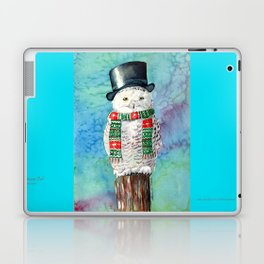 Snowman Owl Laptop & iPad Skin