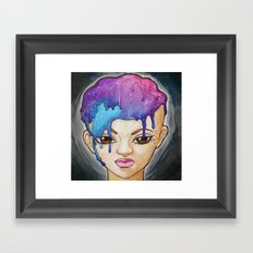 Submersion in the Cosmos Framed Art Print
