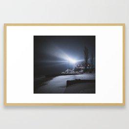 Point Betsie Lighthouse | Frankfort, Michigan | John Hill Photography Framed Art Print