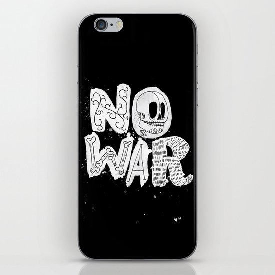 No War iPhone & iPod Skin