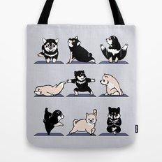 Shiba Yoga Tote Bag