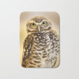 Burrowing Owl 1 Bath Mat