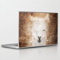 llama Laptop & iPad Skins featuring Llama by Linnea Frank