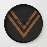 millenium falcon Wall Clocks featuring Falcon by PAAC design